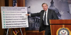 Sen. Lindsey Graham Introduces Senate Resolution Condemning Impeachment Inquiry