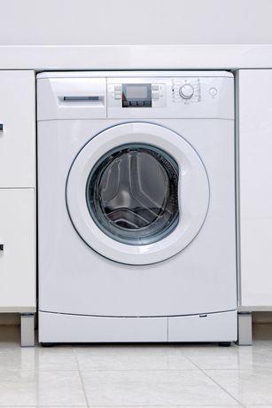view of washing machine