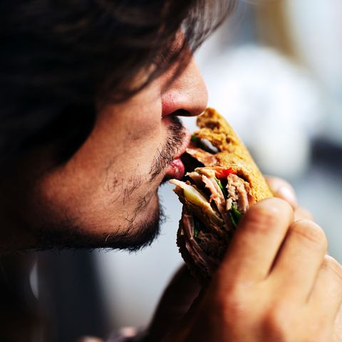 Eating, Nose, Lip, Hand, Human, Mouth, Food, Finger, Cuisine, Food craving,