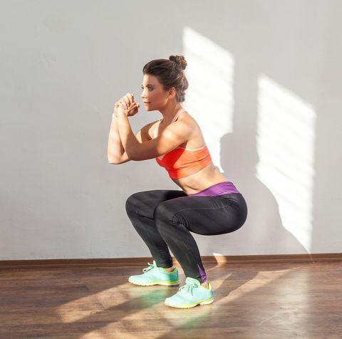 lower body strength workout, women's health uk