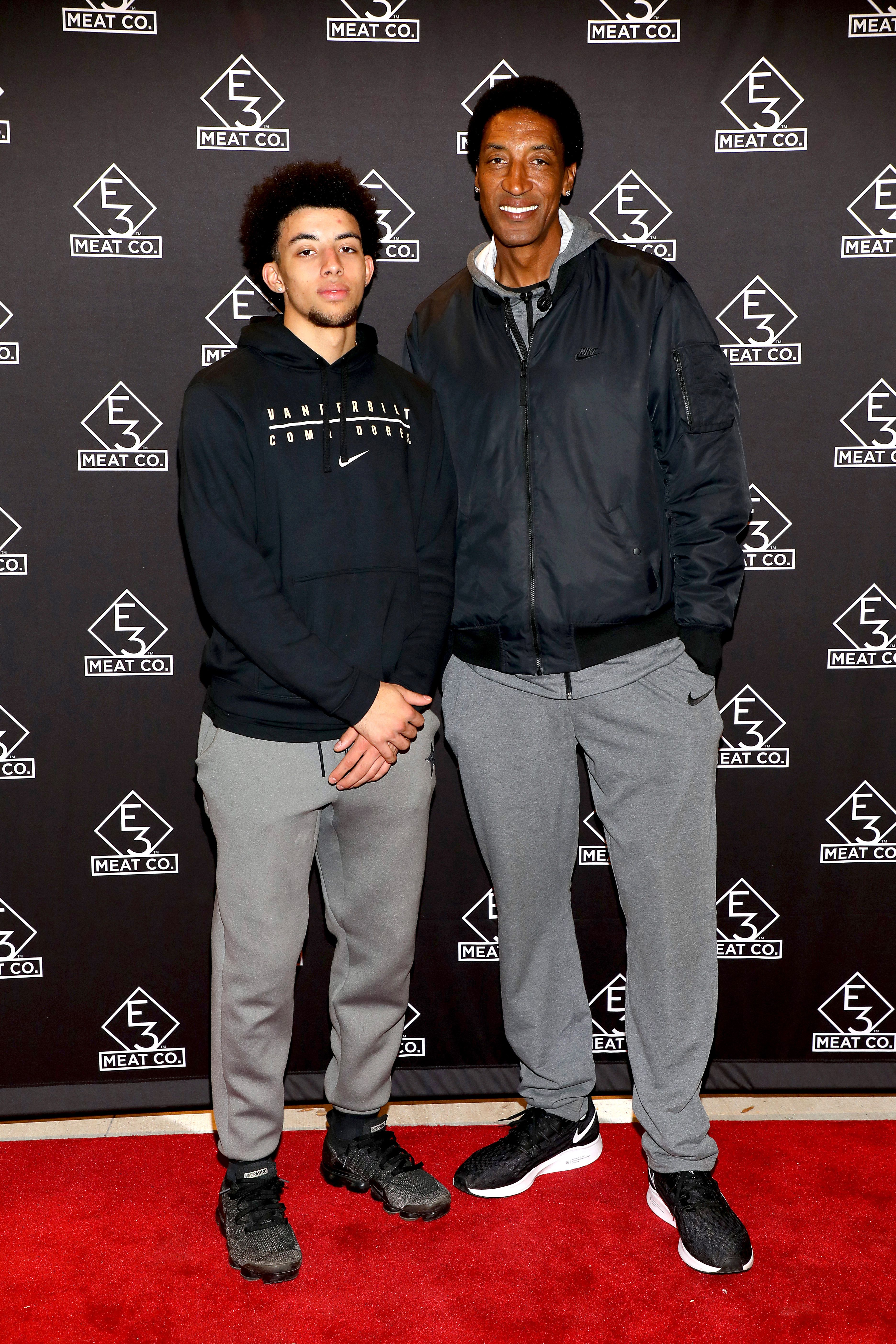Who Is Scotty Pippen Jr Scottie Pippen S Son College Basketball Star