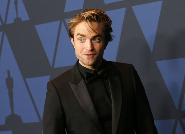 hollywood, california   october 27 robert pattinson arrives to the academy of motion picture arts and sciences 11th annual governors awards held at the ray dolby ballroom at hollywood  highland center on october 27, 2019 in hollywood, california photo by michael tranfilmmagic