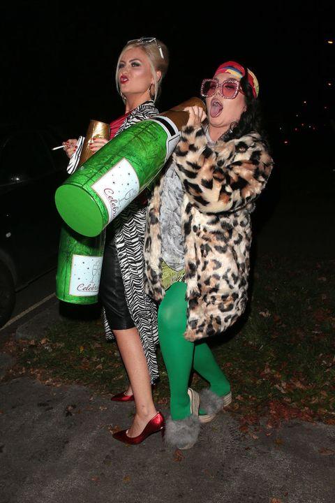 Jonathan Ross Halloween party
