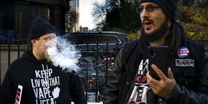 New York City Cuncil Votes On Ban Of Flavored E-Cigarettes