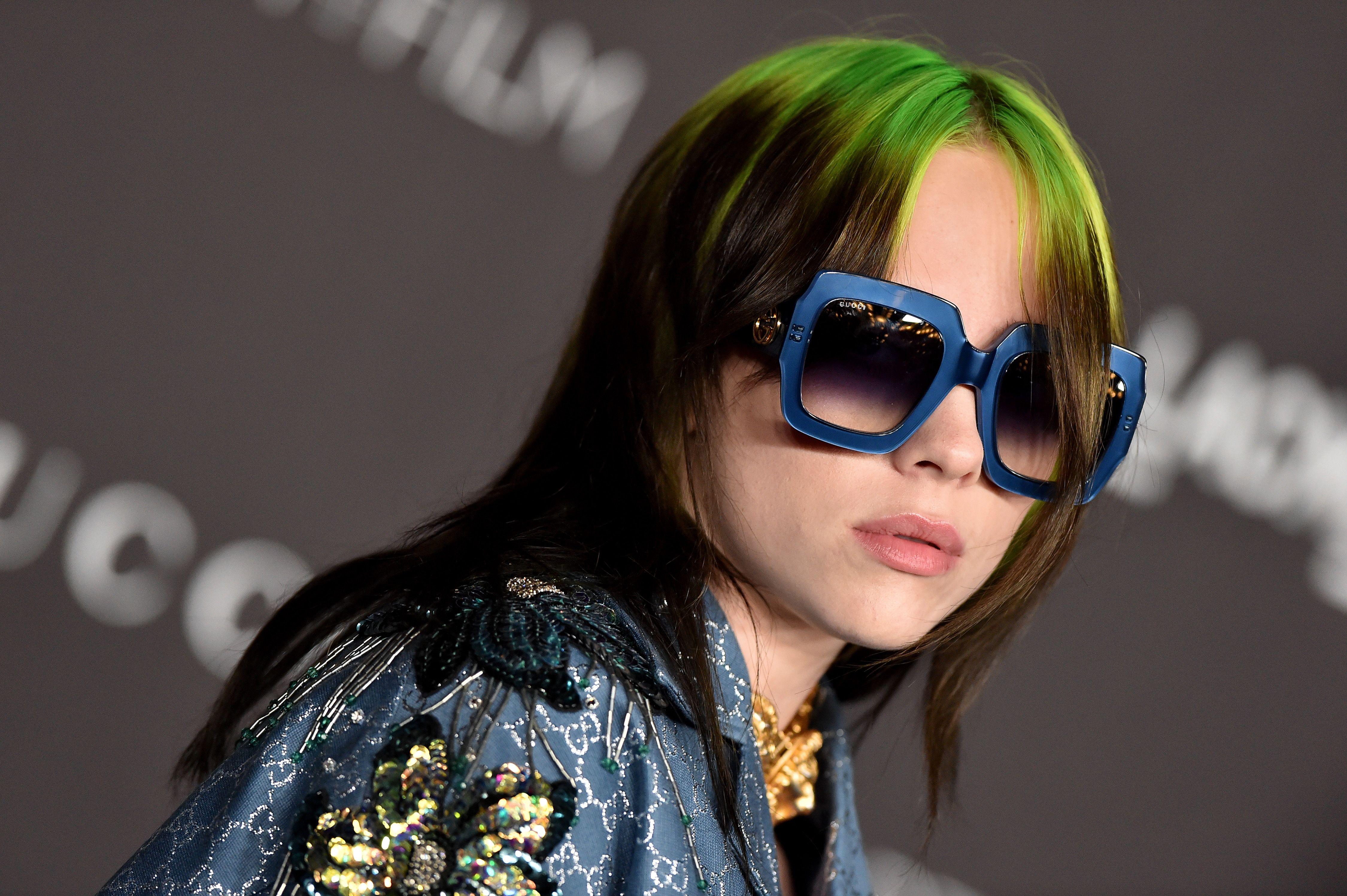 Where to Buy Billie Eilish's Insane $420 Gucci Sunglasses