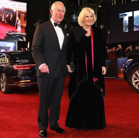 """Prince Of Wales And Duchess Of Cornwall Attend The Royal Film Performance Of """"1917"""""""