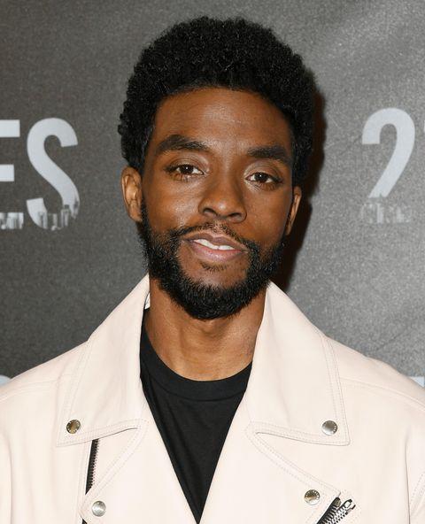 Chadwick Boseman at the 21 Bridges premiere