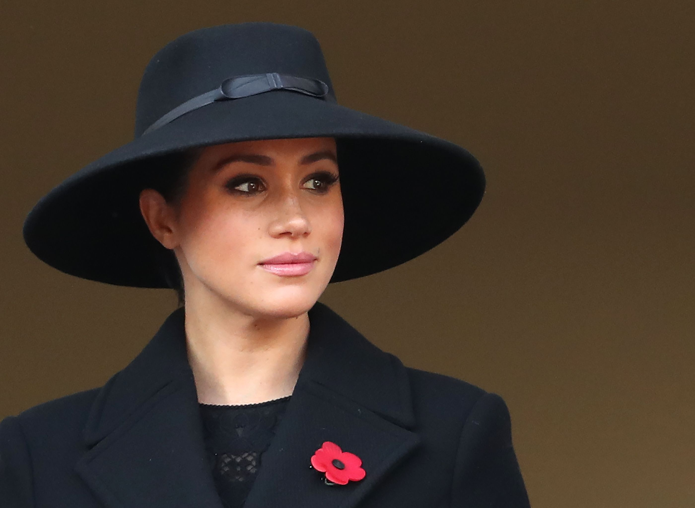 Meghan Markle Was Placed Far Away from Kate Middleton at the Remembrance Day Ceremony This Morning