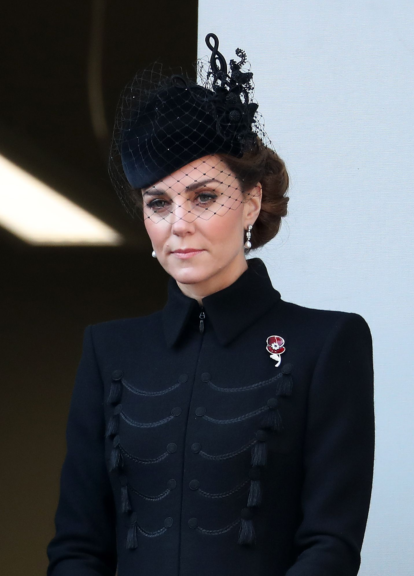 Kate Middleton pays tribute to her grandmother in Remembrance Day outfit