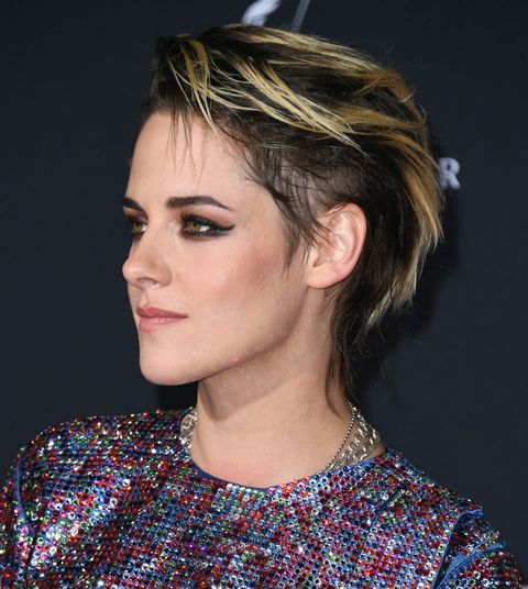 los angeles, california   november 11  kristen stewart attends the premiere of columbia pictures charlies angels at westwood regency theater on november 11, 2019 in los angeles, california photo by jon kopaloffgetty images