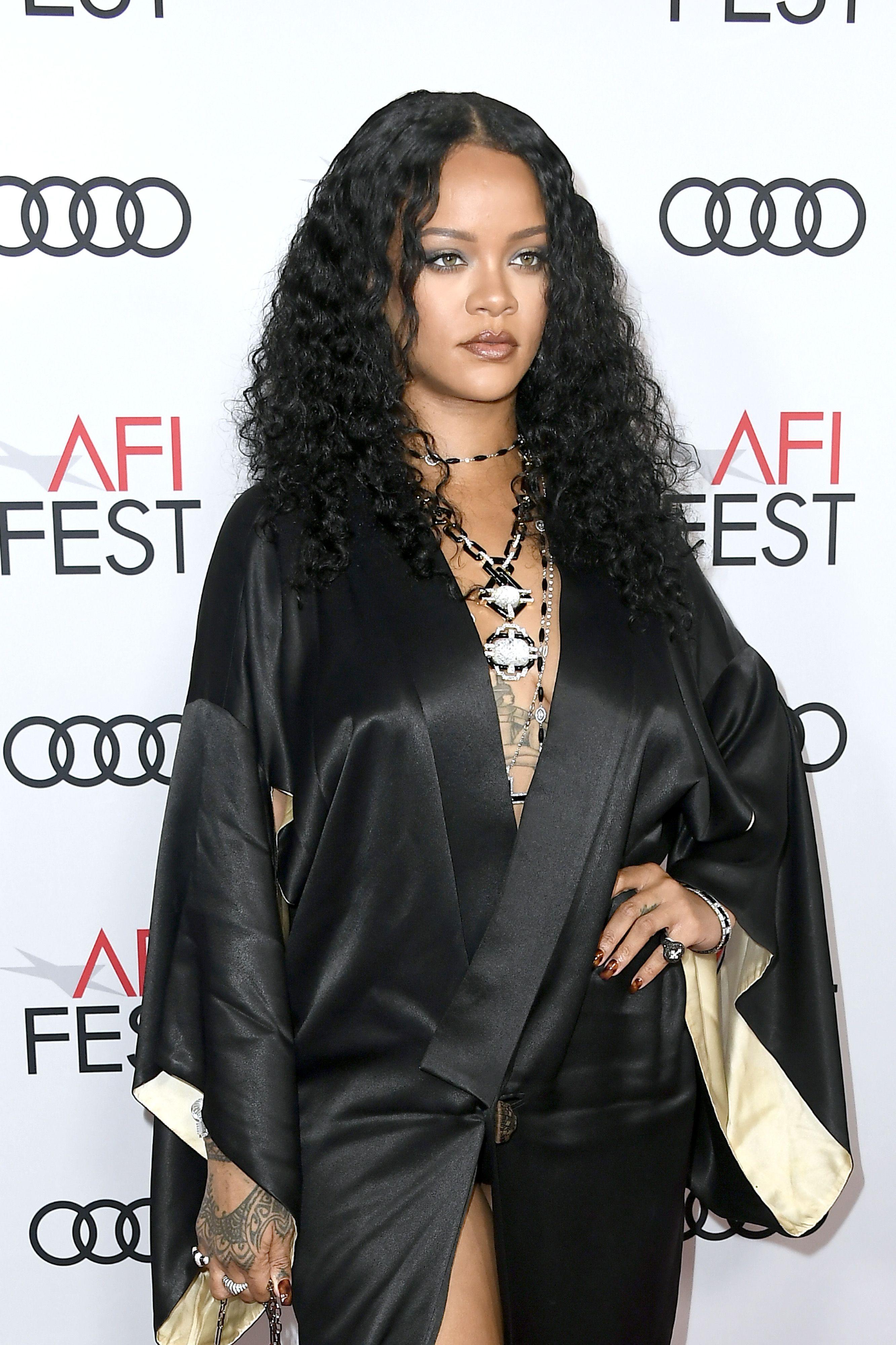 Rihanna models new Fenty sunglasses in tiny bikini and looks ah-mazing