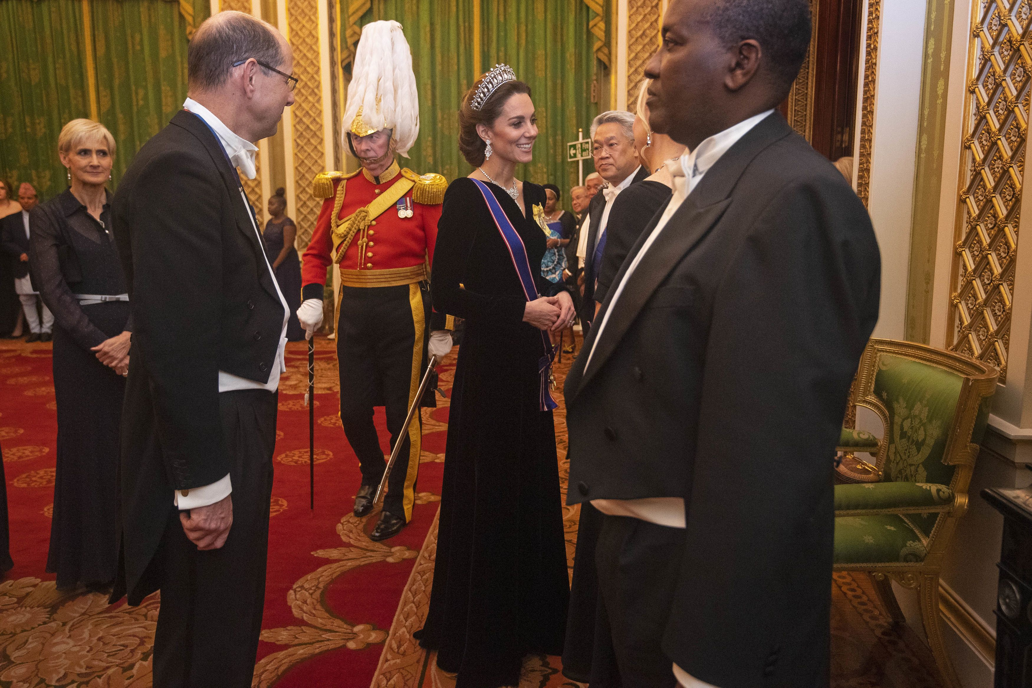 See All The Best Photos of Buckingham Palace's Annual Diplomatic Corps Reception