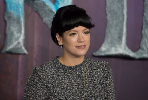 london, england   november 17 lily allen attends the frozen 2 european premiere  at bfi southbank on november 17, 2019 in london, england photo by stuart c wilsongetty images