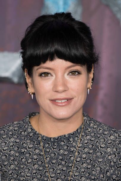 london, england   november 17 lily allen attends the frozen 2 european premiere at bfi southbank on november 17, 2019 in london, england photo by jeff spicergetty images