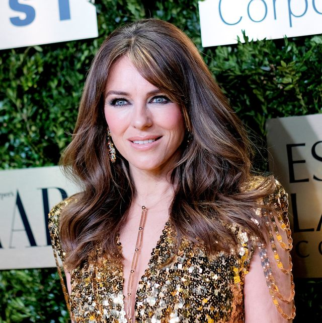 new york, new york   november 18 elizabeth hurley attends the lincoln center corporate fashion gala honoring leonard a lauder at alice tully hall on november 18, 2019 in new york city photo by dimitrios kambourisgetty images for lincoln center