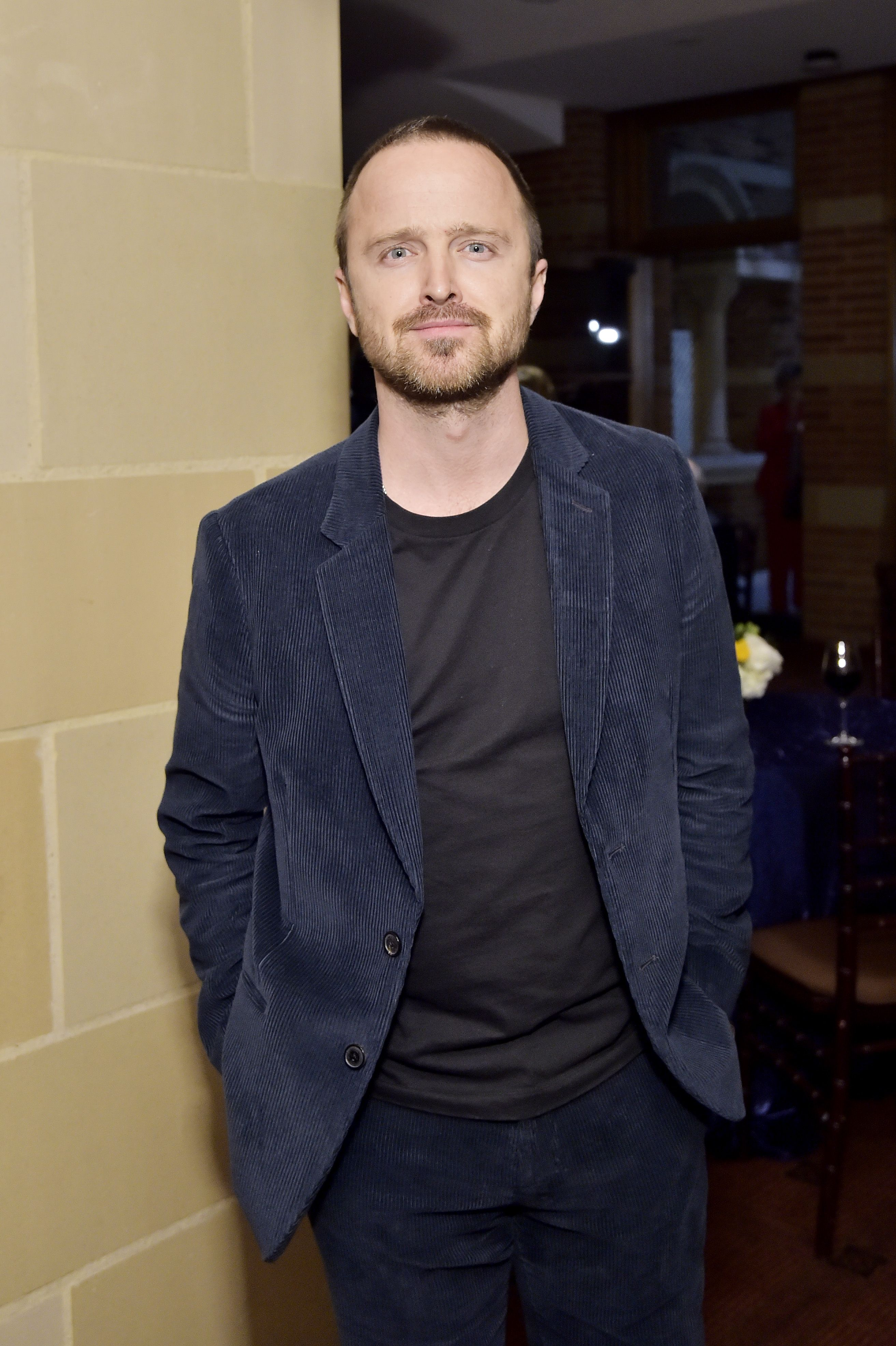 We Could All Use Aaron Paul's Cozy King Cord Suit