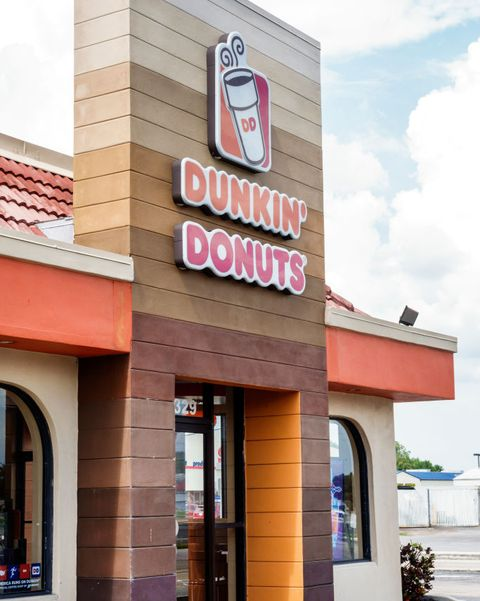 florida, arcadia, dunkin donuts, coffee shop exterior photo by jeffrey greenbergeducation imagesuniversal images group via getty images