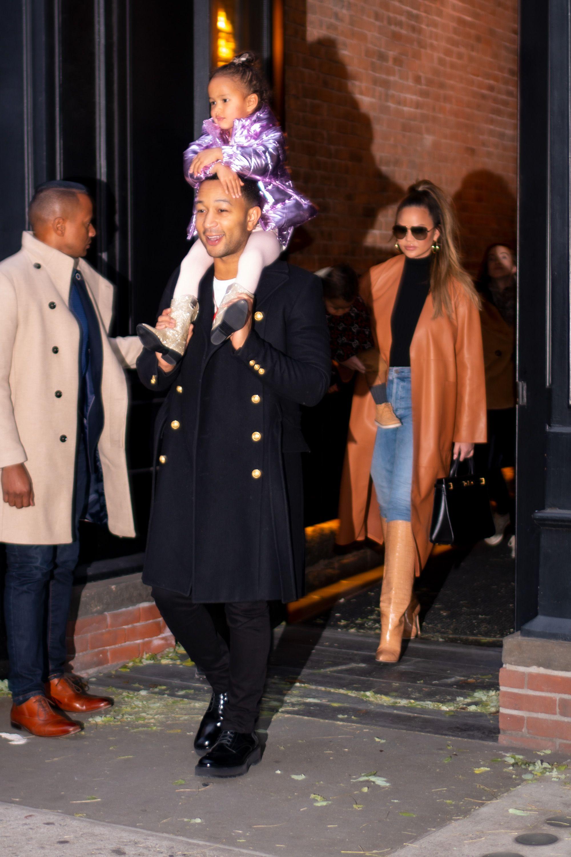 Chrissy Teigen and John Legend Took Luna to Dance With Misty Copeland After 'The Nutcracker'