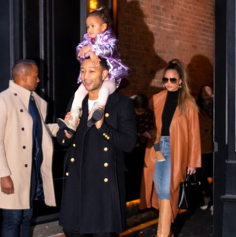 Celebrity Sightings In New York City - November 23, 2019