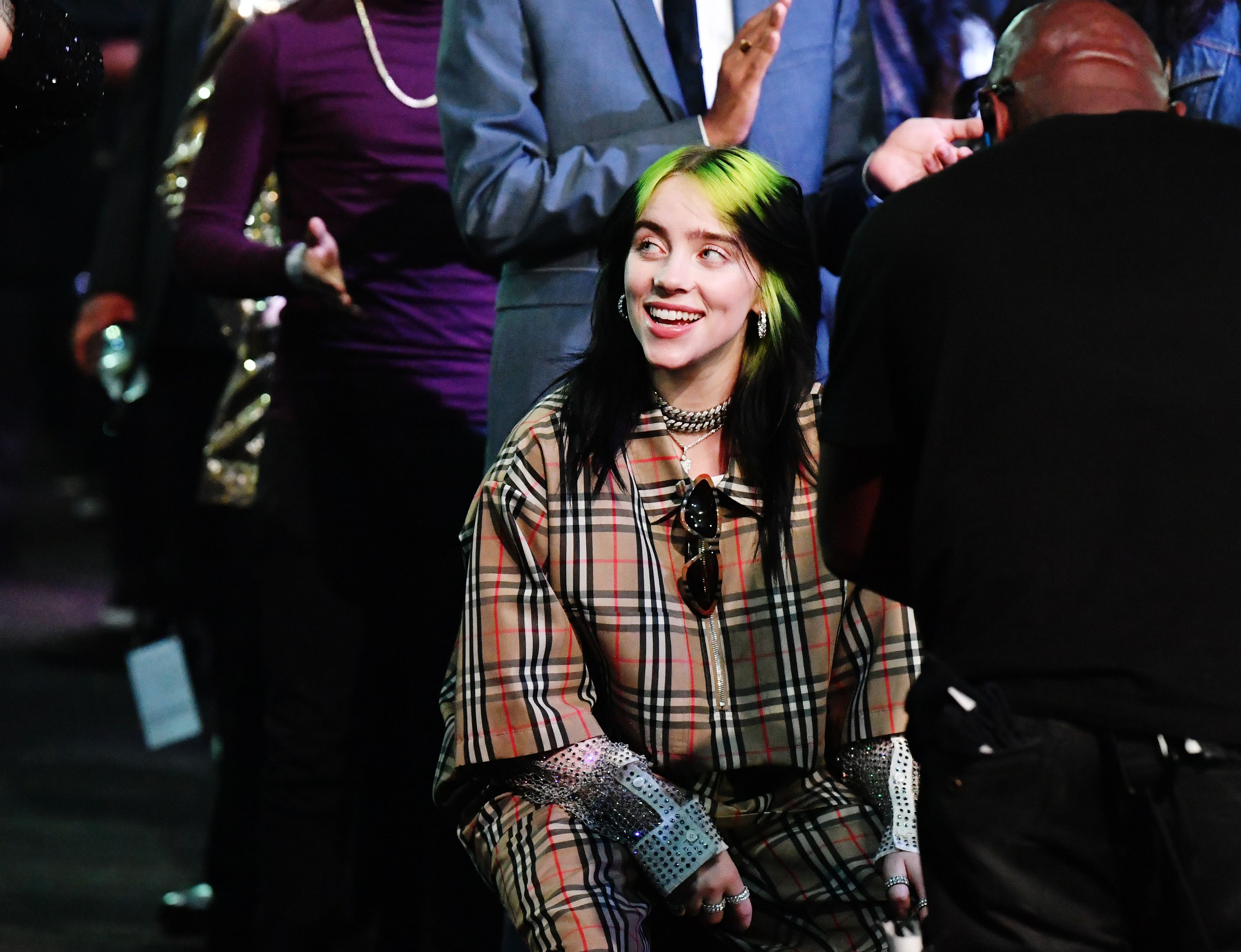 So, we don't want to alarm you, but Billie Eilish has dyed her hair brown