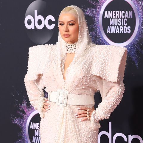 Christina Aguilera American Music Awards reaction