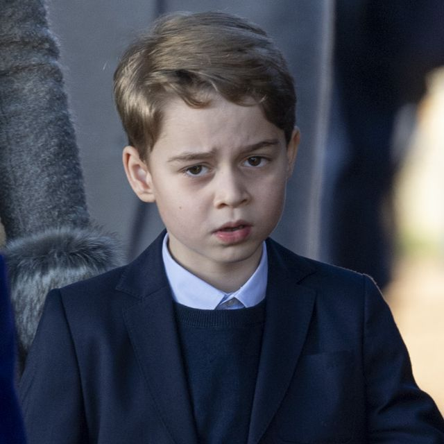kings lynn, england   december 25  prince george of cambridge attends the christmas day church service at church of st mary magdalene on the sandringham estate on december 25, 2019 in kings lynn, united kingdom photo by mark cuthbertuk press via getty images