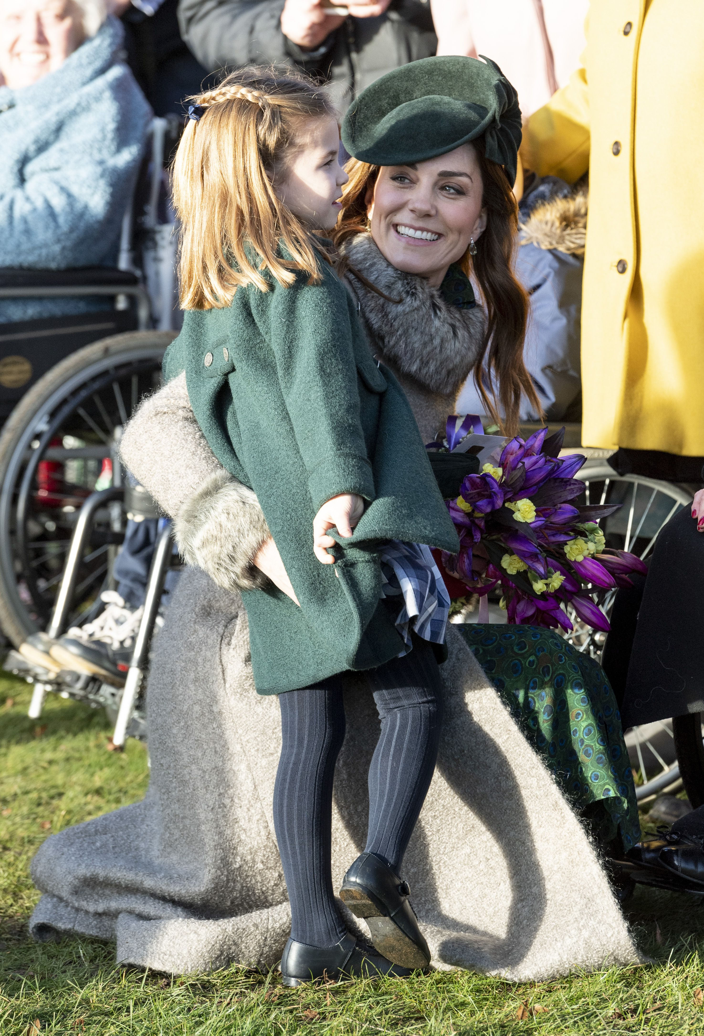 Kate Middleton and Princess Charlotte Go Hunting for Spiders Together