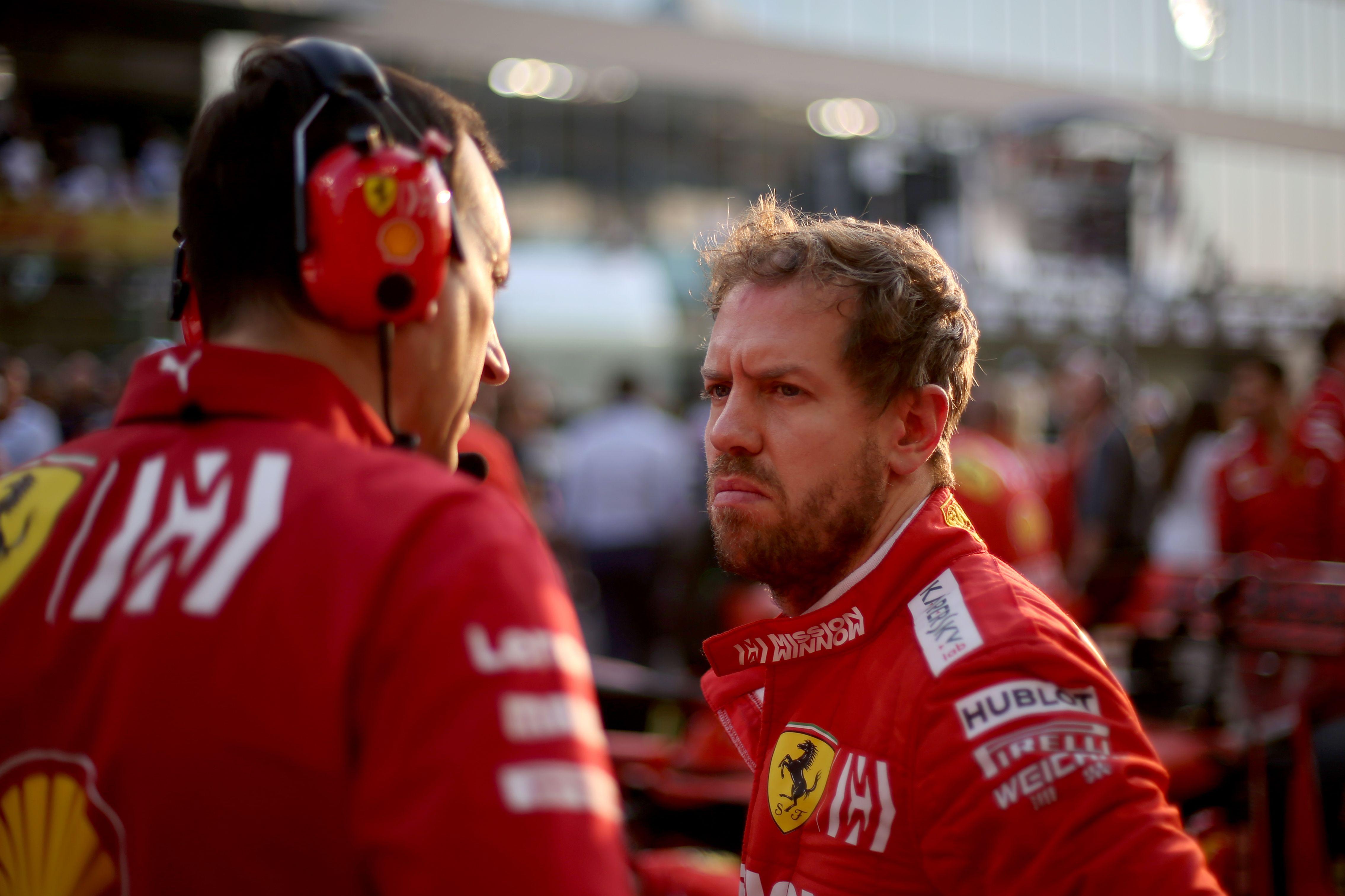 Sebastian Vettel On His Time At Ferrari I Have Failed