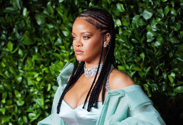 london, england   december 02 rihanna arrives at the fashion awards 2019 held at royal albert hall on december 02, 2019 in london, england photo by samir husseinwireimage