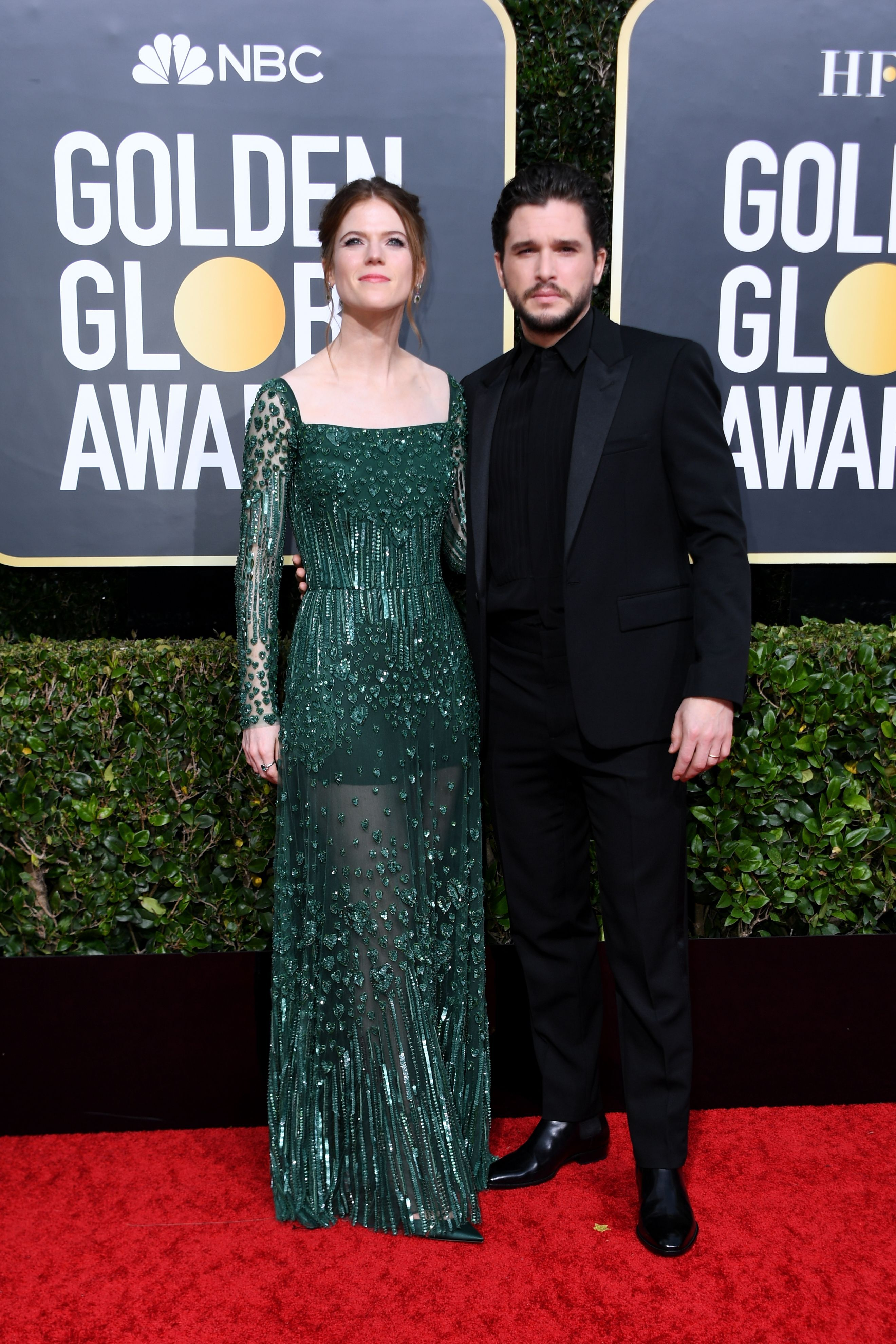 All the Celebrity Couples at the 2020 Golden Globes