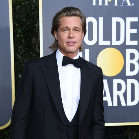 Brad Pitt was asked about running into Jennifer Aniston at the Golden Globes