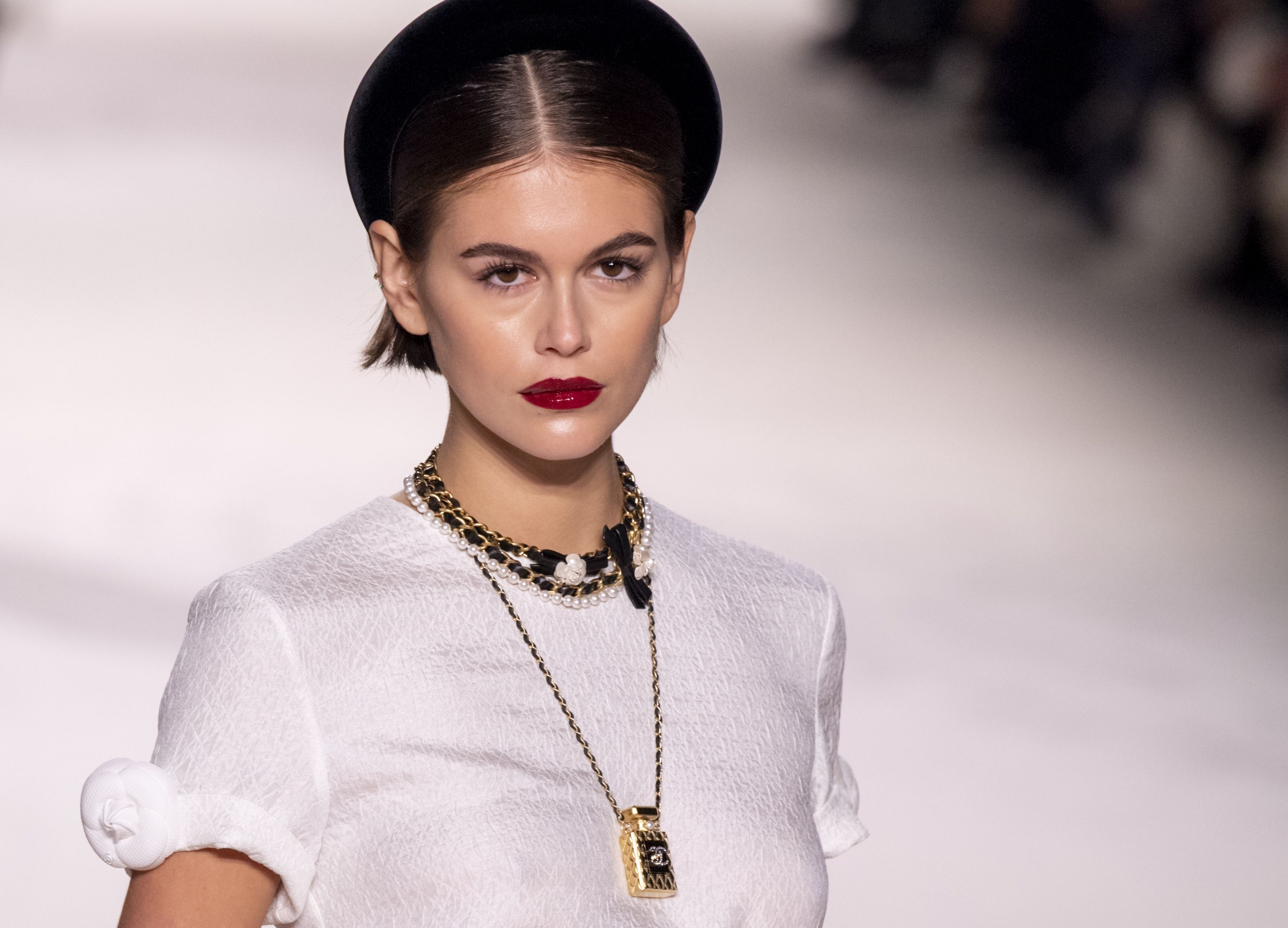 Chanel Métiers d'Art Served Up '80s Princess Diana-Inspired Beauty