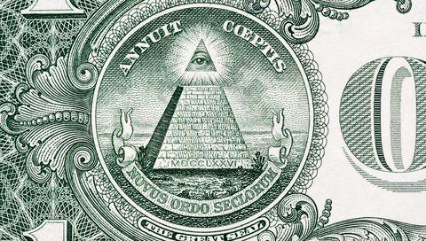 close up van een amerikaanse dollar
