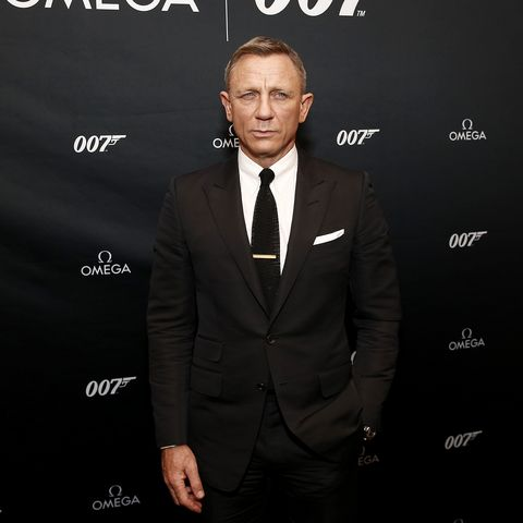 Daniel Craig Suit James Bond S All Black Tailoring For No