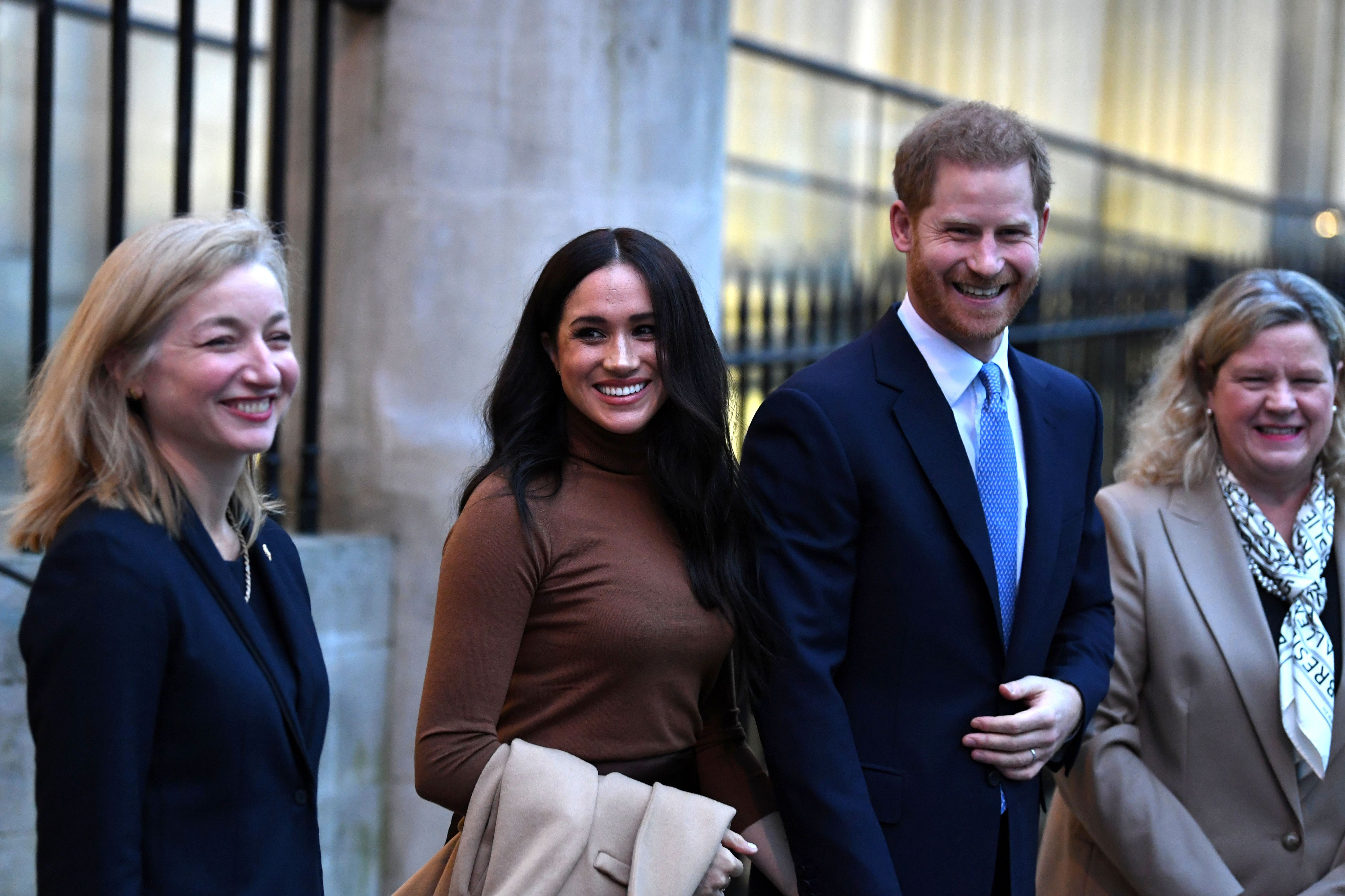 The Palace Breaks Its Silence on Report Meghan Markle and Prince Harry Could Move to Canada