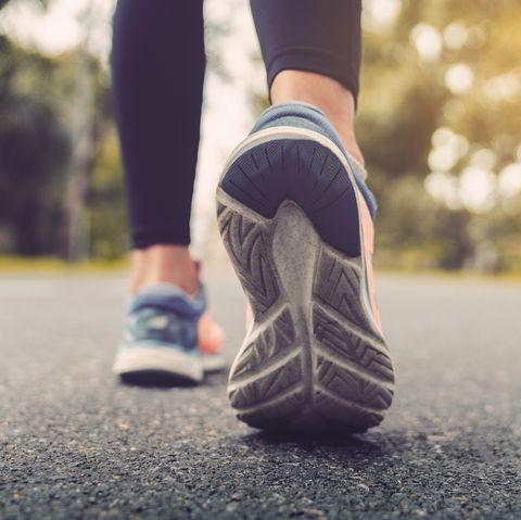 calories burned walking