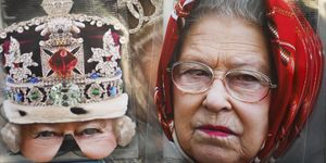 British Royal Family Party Masks Sold In London