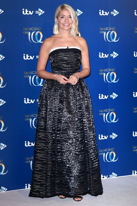 bovingdon, england   december 09 holly willoughby attends the dancing on ice 2019 photocall at the dancing on ice studio, itv studios, old bovingdon airfield on december 09, 2019 in bovingdon, england photo by karwai tangwireimage