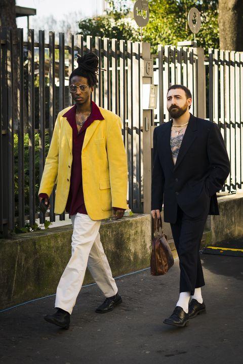 milan fashion week aw20 street style