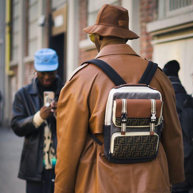 Street Style At Fendi Fashion Show: January 13 - Milan Men's Fashion Week Fall/Winter 2020/2021