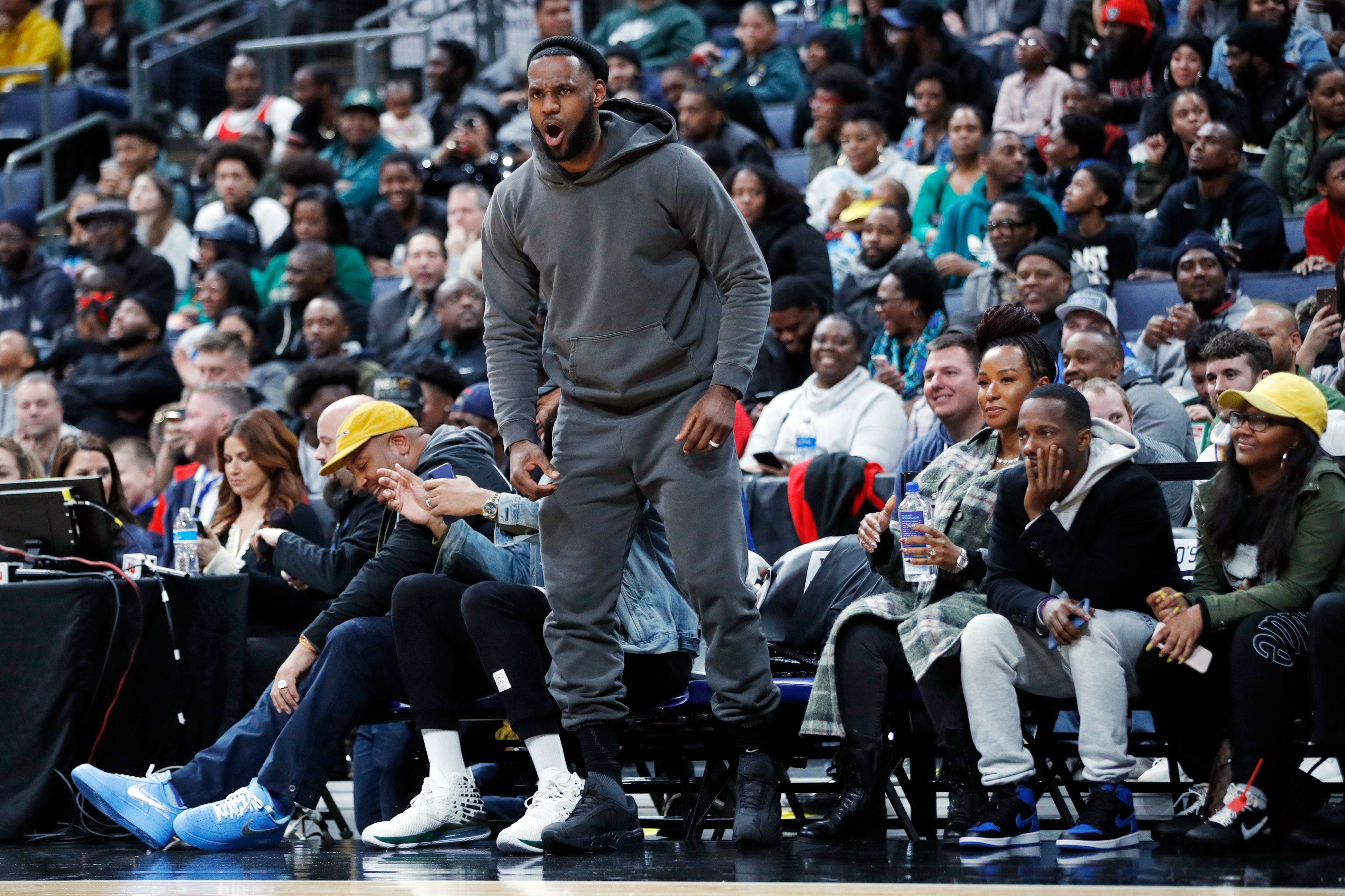 Here's Your (Very Limited-Edition) Shot at Channeling LeBron's Sweatsuit Style