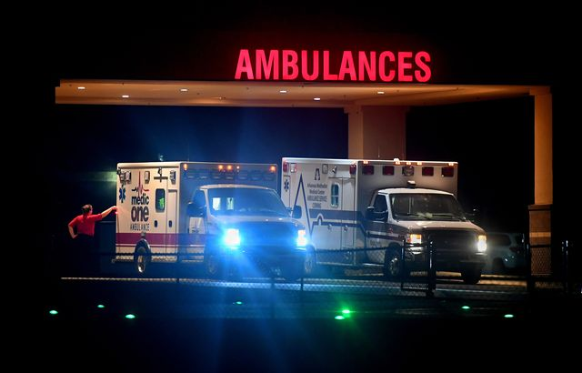 poplar bluff, mo july 19 a pair of ambulances that serve both southeast missouri and northeast arkansas are parked in the ambulance bay at the poplar bluff regional medical center in poplar bluff, missouri on july 19, 2019 an accident victim can be billed for very expensive ambulance transport services when it may not have been their choice to use the service because many rural hospitals have closed, the average trip by ambulance is longer and much more expensive as it must travel farther to the nearest hospital in many cases the poplar bluff area in southeast missouri is a part of the country where both healthcare providers and medical care recipients have been burdened by medical related costs there are scores of people in the area who are being sued by the local hospital for medical bills they cannot pay the hospital feels it has no choice but to pursue the cases as rural patients are visiting the emergency room in record numbers and increasingly defaulting on their bills photo by michael s williamsonthe washington post via getty images