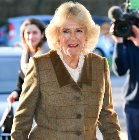 The Duchess Of Cornwall Visits Prospect Hospice In Swindon