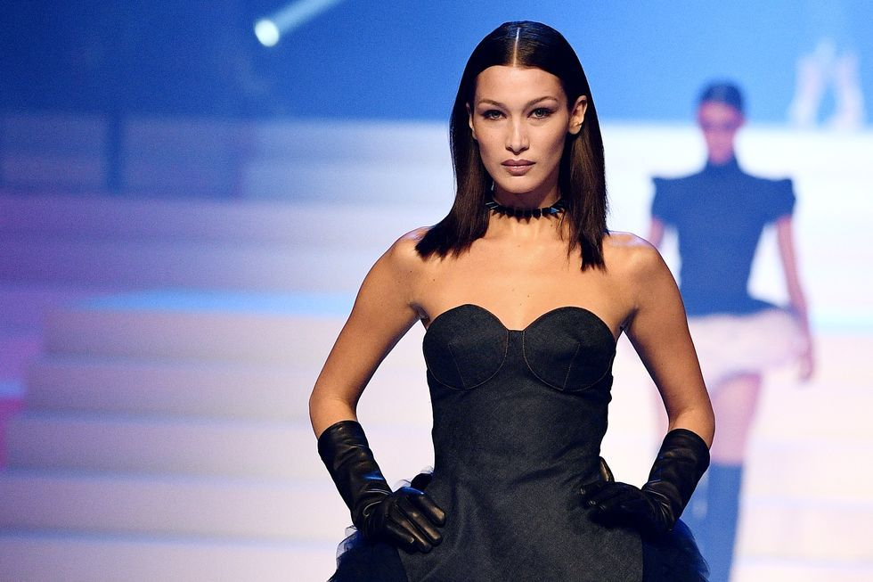 Bella Hadid Shares Never-Before-Seen Candid Photo With Kate Moss And Lila Moss At Dinner