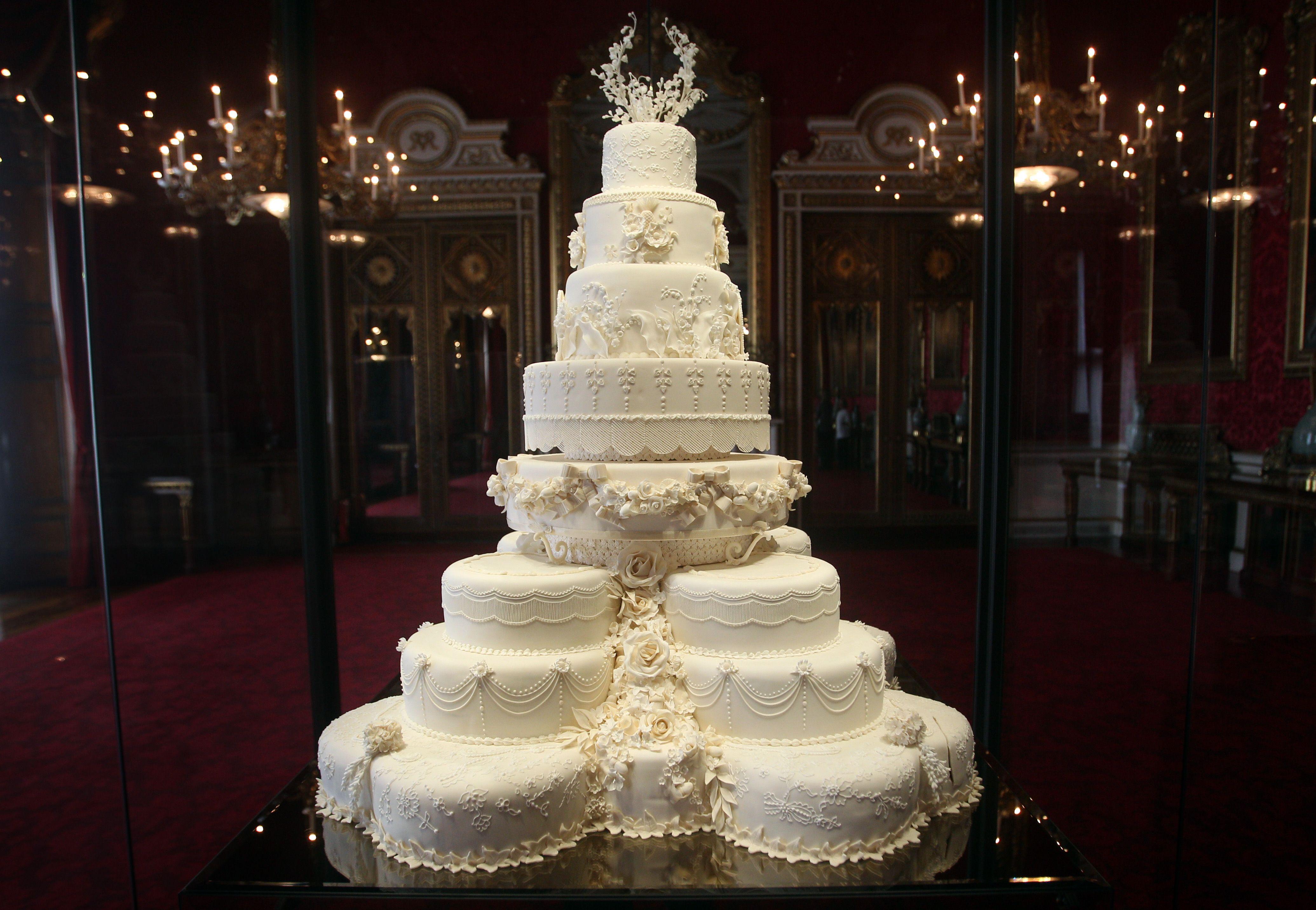 Kate Middleton Wedding Cake