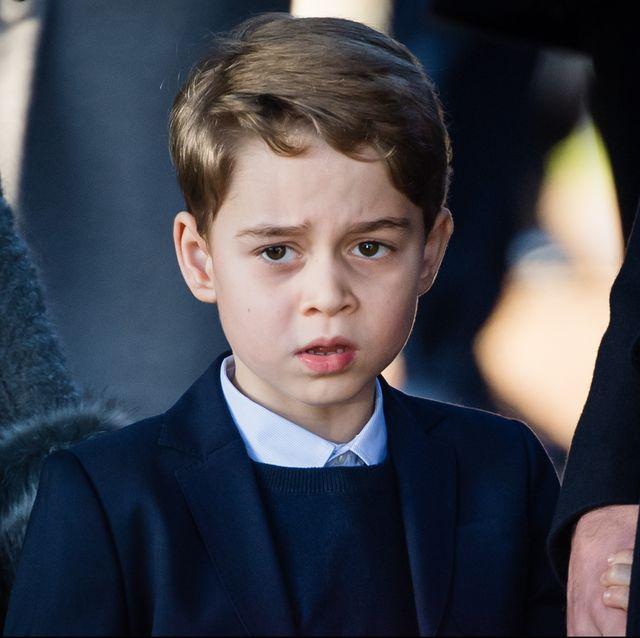 ジョージ王子 ウィリアム王子 キャサリン妃 ロイヤルファミリー
