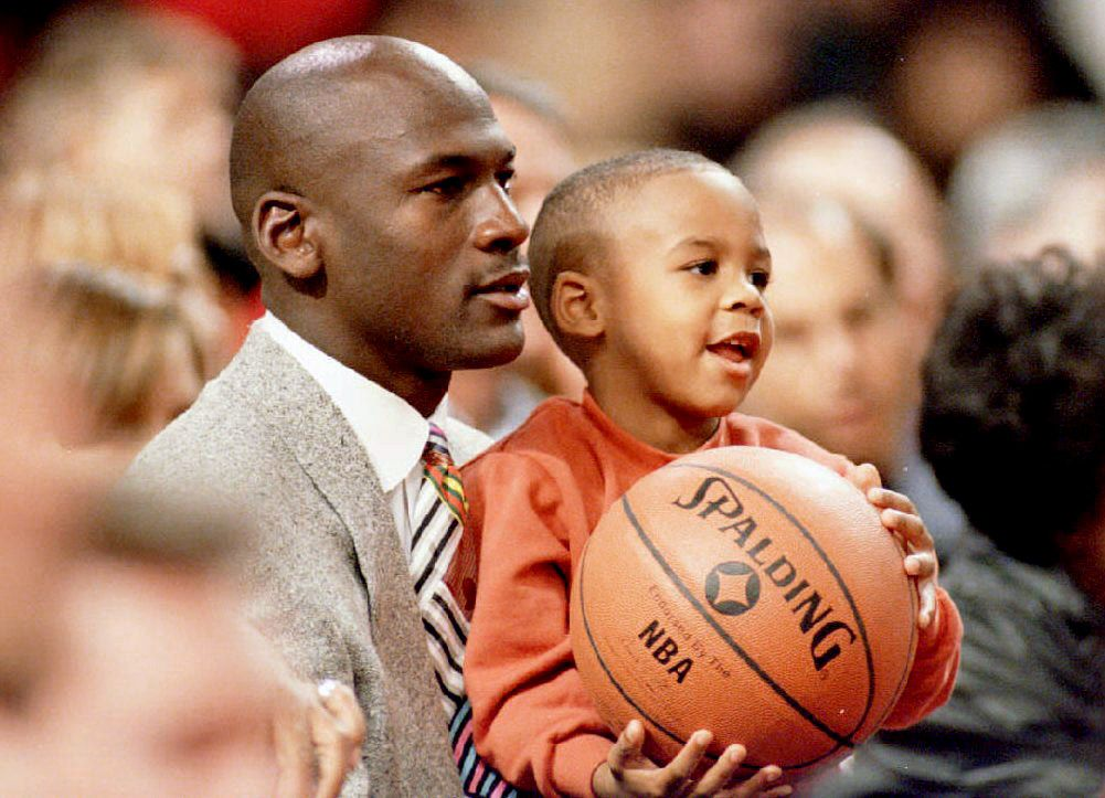 aggrapparsi meteora soglia  Who Are Michael Jordan's Kids? | Michael Jordan Children