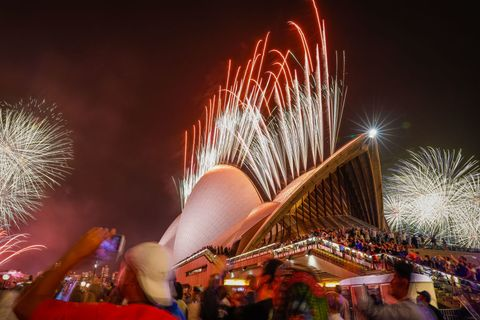 Australians Celebrate New Year's Eve 2019
