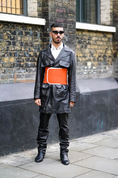 london fashion week mens aw20 street style