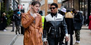 london fashion week men's aw20 street style